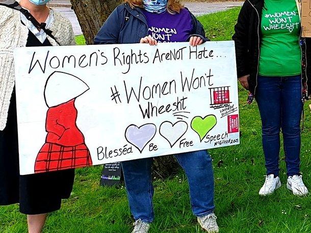 Women Won't Wheesht